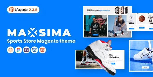 Maxsima v1.0 - Sports eCommerce Magento 2 Theme
