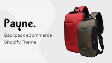 Payne v1.0 - Backpack eCommerce Shopify Theme